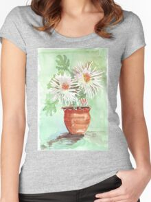 Pink Mums Women's Fitted Scoop T-Shirt