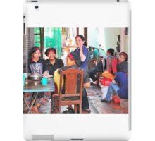 Preparing for the lunch rush!!!! Siem Reap, Cambodia iPad Case/Skin