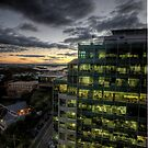 Quitting Time - North Sydney - Moods of A City -The HDR Experience by Philip Johnson