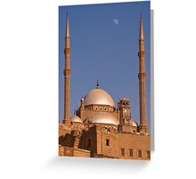 Citadel of Cairo Greeting Card