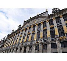 La Grande Place, Brussels, Belgium Photographic Print