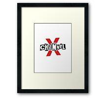 ChannelX Framed Print