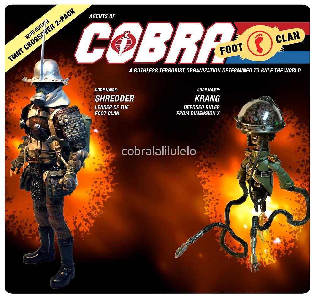 Shredder and Krang by cobralalilulelo