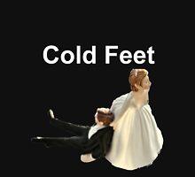 Cold Feet white Unisex T-Shirt