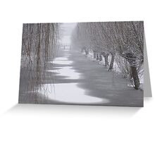 Winter in Gouda Greeting Card