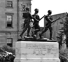 Charlottetown Cenotaph (War Memorial) by Craig Blanchard