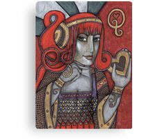 Queen of Hearts (Off With Their Heads!) Canvas Print