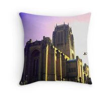 LIVERPOOL'S ANGLICAN CATHEDRAL Throw Pillow