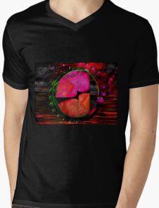 Infinity in a Nipple Mens V-Neck T-Shirt