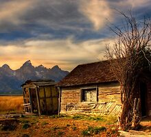 Mormon Row, Tetons National Park, Jackson,  Wyoming, USA. by PhotosEcosse