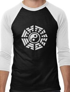 Marisa's Hakkero White Men's Baseball ¾ T-Shirt