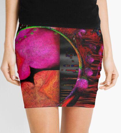 Infinity in a Nipple Mini Skirt