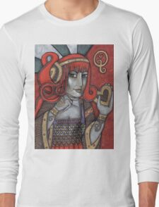 Queen of Hearts Tee (Off With Their Heads!) Long Sleeve T-Shirt