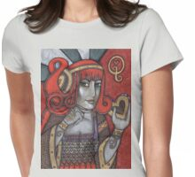 Queen of Hearts Tee (Off With Their Heads!) Womens Fitted T-Shirt