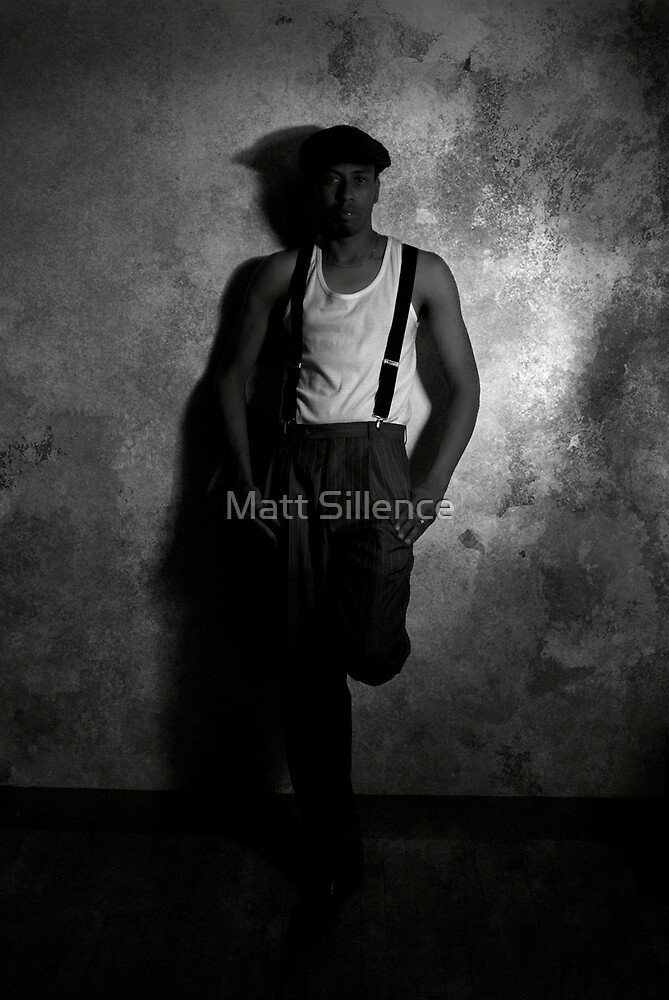 In the shadows by Matt Sillence