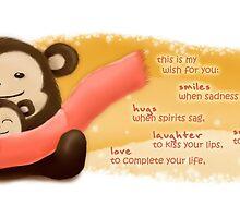 Monkey Love by Yincinerate
