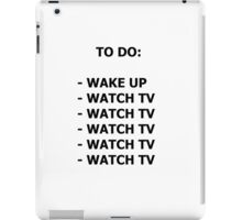 To do list  iPad Case/Skin