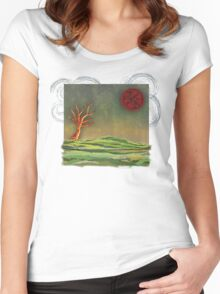 Wake To Greet The Morning II Women's Fitted Scoop T-Shirt