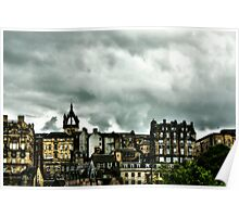 Edinburgh skyline #2 Poster