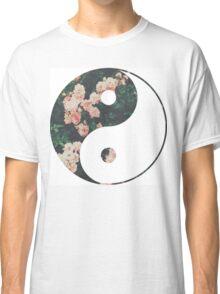 Pink Flower Zen Classic T-Shirt