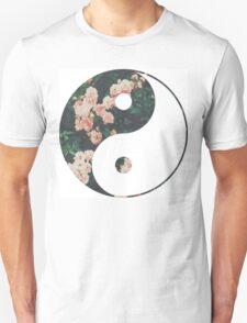Pink Flower Zen Unisex T-Shirt