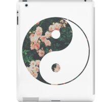 Pink Flower Zen iPad Case/Skin