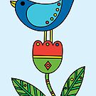 Birdy - card by Andi Bird