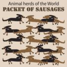 Packet of sausages by Diana-Lee Saville