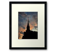 All Hallows by the Tower Framed Print