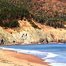 Aspy Bay,Cape Breton by George Cousins