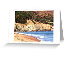 Aspy Bay,Cape Breton Greeting Card