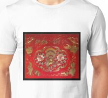 silk embrodery Unisex T-Shirt