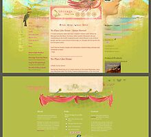 Message from the Muse (Web design) by AngiandSilas