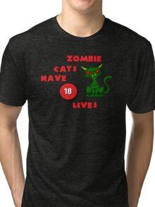 18 Lives Tri-blend T-Shirt