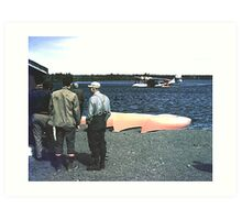 Wabush/Knob Lake 1953 Art Print
