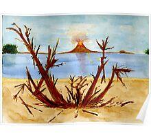Anak Krakatau-The Volcano Poster