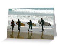 Surfing in Australia Greeting Card
