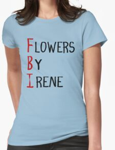 Flowers By Irene Womens Fitted T-Shirt