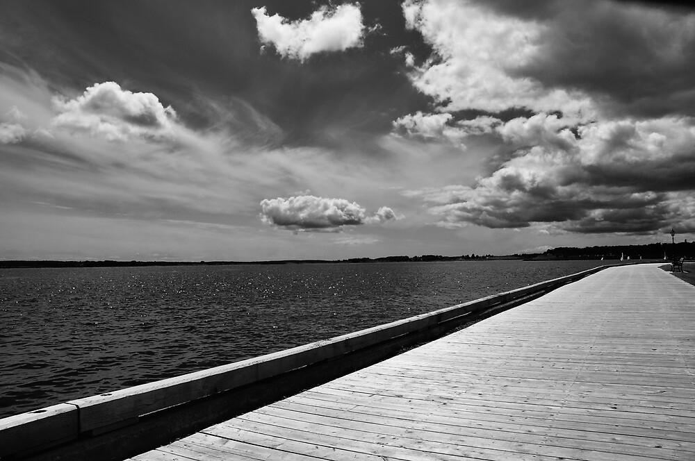 On The Boardwalk by Craig Blanchard