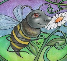 Bumble Bee by snailmakesart
