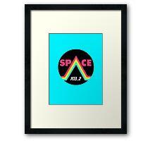 Space 103.2 Framed Print