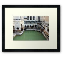 The Bath At Bath Framed Print
