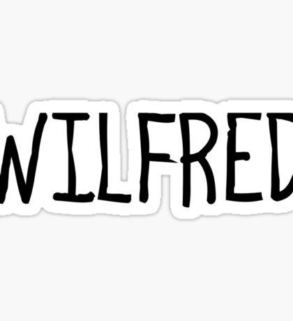 Wilfie Sticker