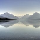 Daybreak at Lake McDonald by Terence Russell