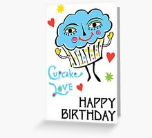 Cupcake Love - Card Greeting Card