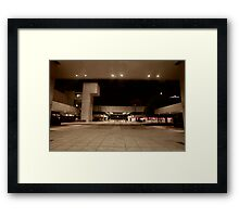 Journal Square Promenade Framed Print