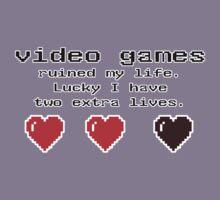 video games ruined my life....  by stevegrig