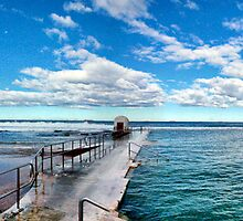 Merewether baths  by RedMonkey Photography