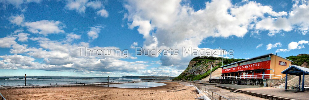 Merewether ocean baths by Throwing  Buckets Magazine