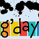 G' day - card by Andi Bird